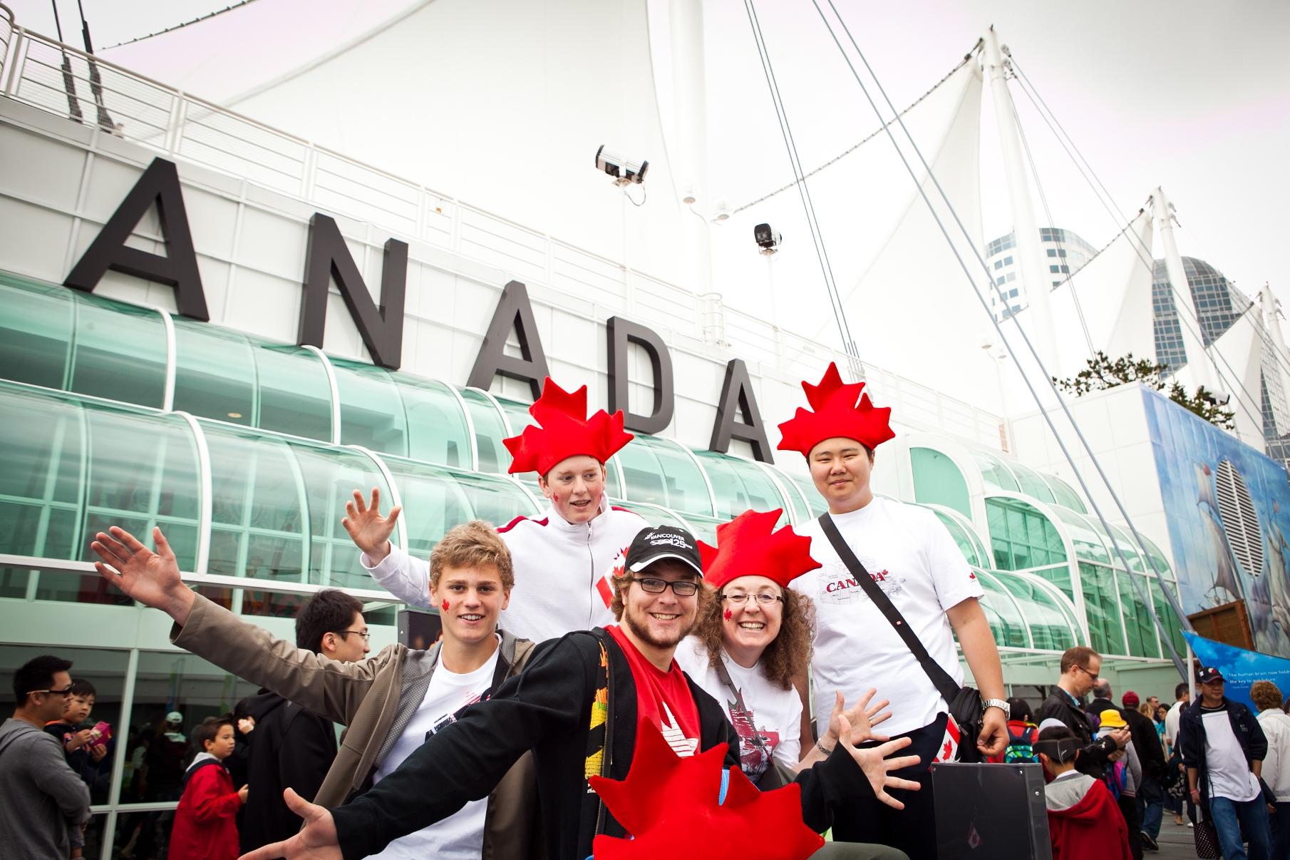 Обучение английскому языку в Канаде